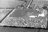 Towersey Festival from the air in 1967
