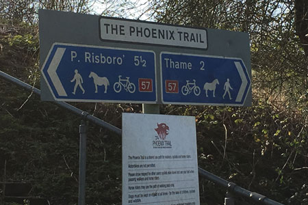Phoenix Trail sign
