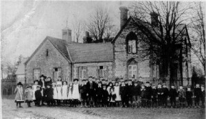 Towersey School in 1910